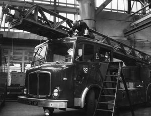 London Fire Brigade repair workshop, Lambeth HQ