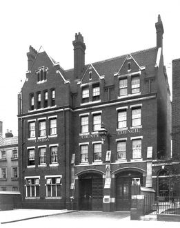 LCC-LFB Edgware Road fire station, Paddington
