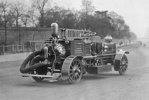 LCC-LFB motorised Hatfield type fire engine