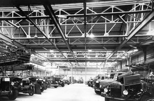 LCC-LFB vehicle repair workshops, Lambeth HQ