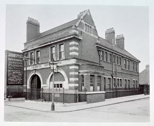 LCC-MFB North Woolwich fire station, E16