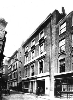 The London Salvage Corps HQ, 40-42 Watling Street