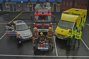 Multi service emergency vehicles