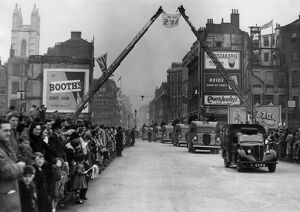 AFS recruitment parade, London, WW2