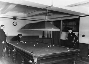 Fire Station Billiards Room